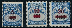 [59250] Germany Danzig Due 1932 good set MH Very Fine stamps $50