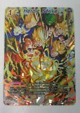 Heroic Strike - Dragon Ball Super CCG NM/M BT8-133 NHR