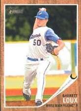 2011 Topps Heritage Minor League #160 Barret Loux NM-MT
