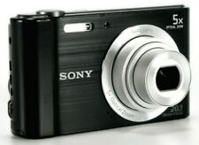 NEW Sony Cyber-Shot DSC-W800 20.1MP Digital Camera + 8GB SD Card