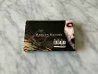 Marilyn Manson Antichrist Superstar CASSETTE Tape 1996 Interscope Tourniquet OOP