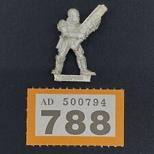 WARHAMMER 40,000 IMPERIAL ADEPTUS ARBITES ROGUE TRADER ERA WITH SHOTGUN METAL