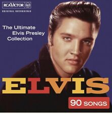 ELVIS PRESLEY - The real...Elvis - CD album (3 CDs, 90 tracks)