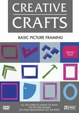 Basic Picture Framing (DVD, 2009) NEW ITEM IN ORIGINAL PACKAGING & SEALED
