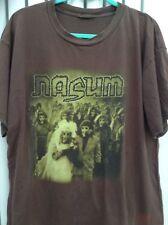 Rare Nasum Inhale Exhale Shirt T-shirt Gadget Rotten Sound Insect Warfare AxCx