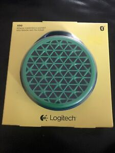 NEW Logitech X50 Mobile Speaker  Green/Blue