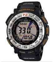 CASIO PROTREK TOUGH SOLAR TRIPLE SENSOR WATCH PRG-260-1 PRG-260-1DR