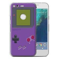STUFF4 Phone Case for Google Nexus/Pixel Smartphone/Video Gamer/Gameboy/Cover