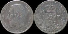 Leopold II 5 frank 1867 punt