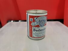 New listing Vintage Budweiser Shorty Steel Pull Tab Beer Can