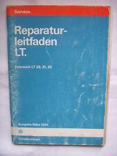 VW LT 28+31+35+Florida+Sven Hedin+WoMo Reparaturhandbuch Reparaturbuch Fahrwerk+