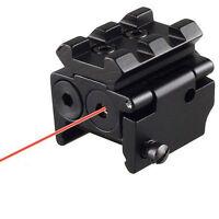 Tactical Red Laser Dot Sight Detachable Picatinny Rail 20mm For Pistol Gun Rifle
