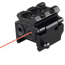 Sporting Gun Tactical Compact Pistol Red Laser Dot Sight Scope with Mounts