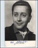 LUTZ JAHODA Schauspieler DDR Autogramm Porträt Fotokarte mit Unterschrift