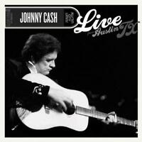 Johnny Cash - Live From Austin Tx (NEW CD+DVD)