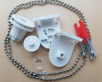 Replacement 25mm Roller Blind Repair Kit + Brackets and Chain UK STOCK