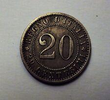 20 CENTESIMI UMBERTO I 1895 ROMA SPL