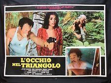 FOTOBUSTA CINEMA - L'OCCHIO NEL TRIANGOLO - PETER CUSHING - 1977 - HORROR - 01