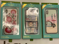 Kate Spade iPhone X Comold Case Resin Library | Out of Office | Jeweled garland