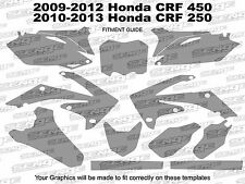 2010 2011 2012 2013 CRF 250R GRAPHICS KIT CRF250R 250 R DECO DECALS STICKERS