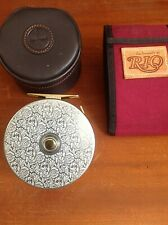 BICKERSTETH CLASSIC SALMON FLY REEL LIMITED EDITION + RIO LINE + TIPS hardy simm