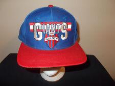 VTG-1990s New York Giants NFL Football ANNCO green under snapback hat sku15