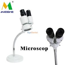 Best Dental Lab Microscope 8X Comprehensive Magnification 360 Revolve Equipment