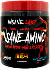 Insane Labz Insane Amino Acids BCAAs with Energy (30 Servings)