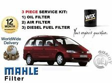FOR FORD GALAXY 1.9 TD DIESEL 1995-2000 NEW SERVICE KIT OIL AIR FUEL FILTER KIT