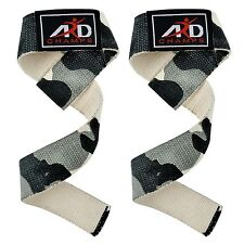 Power Hand Bar Straps Camouflage Weight Lifting Cotton Straps StrengthenTraining