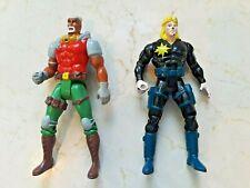 X-Men action figure lot 1992 G.W. Bridge X-Force 1993 Uncanny Longshot Toy Biz