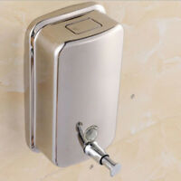 Stainless Steel Soap Dispenser Liquid Pump Shampoo Lotion Container 500ml
