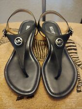 MICHAEL Michael Kors Ramona Black Leather Size 9.5 (NIB)