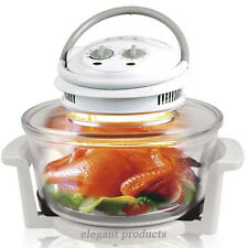 New 12-17 LITRE WHITE HALOGEN CONVECTION OVEN COOKER FREE ACCESSORIES