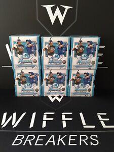 New York Mets 2021 Bowman Chrome (6) Box 1/2 Hobby Case TEAM BREAK