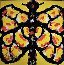 Modernist ABSTRACT Expressionist Painting RORSCHACH MODERN ART SEEKER FOLTZ