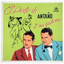 DUETO DE ANTAÑO Y SUS GUITARRAS colombia zeida LDZ 2004 SILK SCREENED COVER LP
