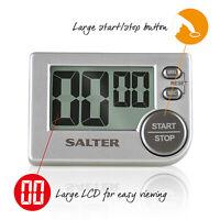 Salter Chefs Large Display Big Button Kitchen Digital Timer Cooking Countdown