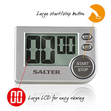 Salter Chefs Large Display Big Button Kitchen Digital Timer Cooking Countdown