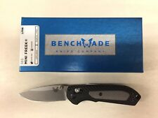 NEW Benchmade 565 Mini Freek Axis Lock Plain Edge Satin S30V Blade Folding Knife