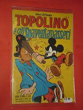 ALBO D'ORO TOPOLINO n° 125-A- DEL 1948-GLI SPAVENTAPASSERI -mondadori- disney