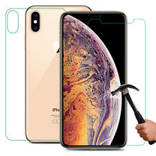 FRONT and BACK Shield For Apple iPhone XS MAX Screen Protector Invisible