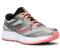 Saucony Women's Cohesion 12 Silver Pink Mesh fashion-sneakers