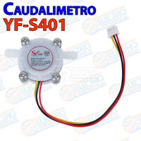 Caudalimetro YF-S401 0.3 6 l/m Flowmeter Counter water agua meter Arduino