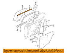 GM OEM Rear Door-Window Sweep Belt Molding Weatherstrip Right 22605166