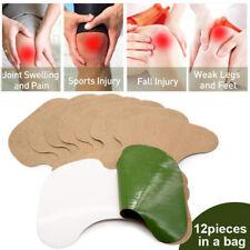 12Pcs Knee Joint Pain Relief Wormwood Paster Knee Rheumatoid Arthritis Patch0AP