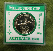 #D50. CASED MEDAL - PHAR LAP / MELBOURNE CUP MEDAL, HORSE RACING