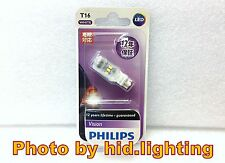 1x Philips T15 T16 921 W16W 6000K Reverse light bright Ultinon White LED bulb