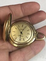 Wittnauer Silhouette Gold Tone Pocket Watch