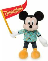 """Disney Parks Park Life Collection Mickey Mouse 12"""" Plush With Pennant NWT"""